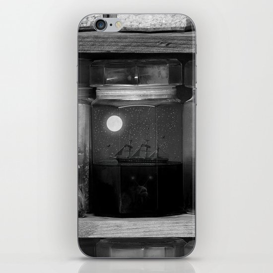 Little Worlds (Crop II) iPhone & iPod Skin