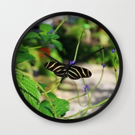 In the Company of Longwings Wall Clock
