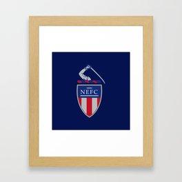 NEFC (English) Framed Art Print