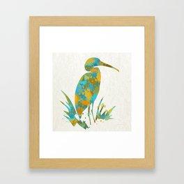 Stork Framed Art Print