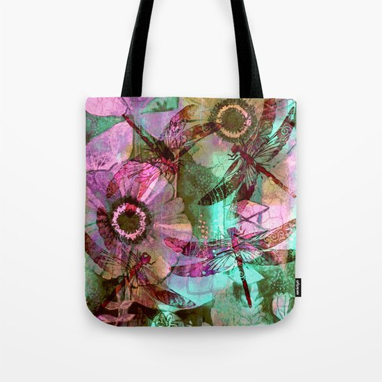 Dragonflies in a Dream Tote Bag