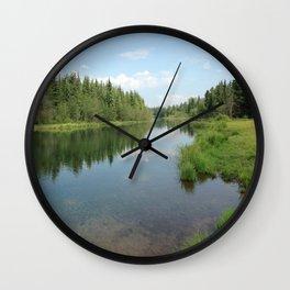 Alaskan Wild Wall Clock