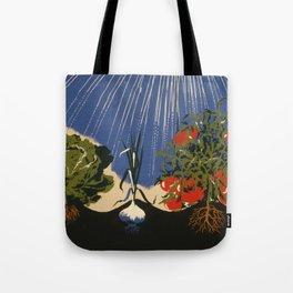 Vintage Vegetable Garden Illustration (1943) Tote Bag