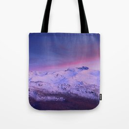 Sierra Nevada mountains. More than 3000 meters hight Tote Bag