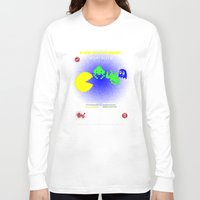 fight Long Sleeve T-shirts featuring Fight ! by mauro mondin