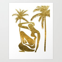 Matisse in Miami Art Print