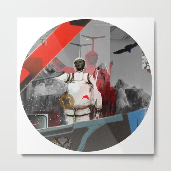 Essence Of Life · Zwischenwelten · Transfer & Dream · Crop Circle Detail 3 Metal Print