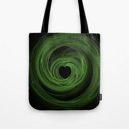 Valentine's Fractal V - Dark Tote Bag