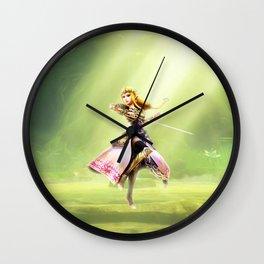 Zelda of princess Wall Clock