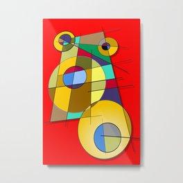 Abstract #51 Metal Print