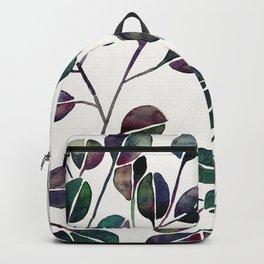 Silver Dollar Eucalyptus – Deep Cool Palette Backpack