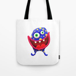Big Mouthed Germ Tote Bag
