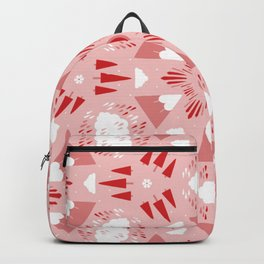 I heart the mountains Backpack