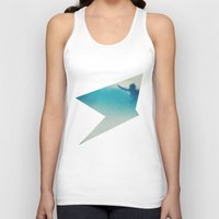 surf Tank Tops featuring Surf by Martin Evans