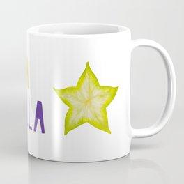 Star Fruit Tropical Fruta Estrella Coffee Mug
