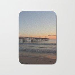 Virginia Beach Pier Sunrise Bath Mat