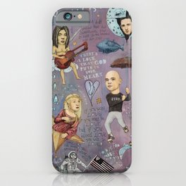 The Pumpkins - Spaceboy's Mellon Collie Dream iPhone Case