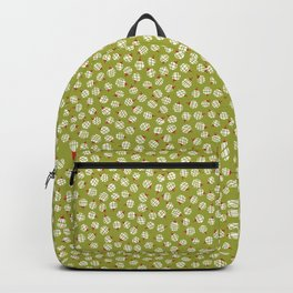 Traditional Christmas Baubles Texture Backpack