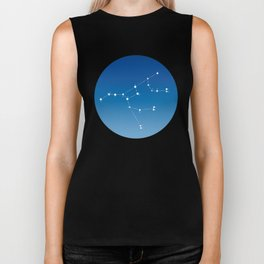 Ursa major constellation Biker Tank