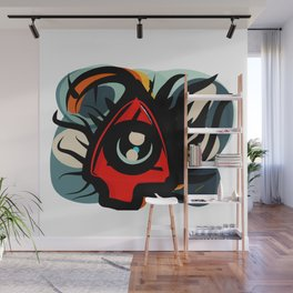 Eye Know Wall Mural