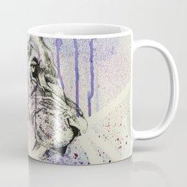 Expressionistic Lion Coffee Mug
