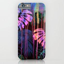 Drippy Jungle {acid} iPhone Case