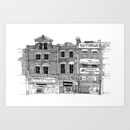 New Cross, London Art Print