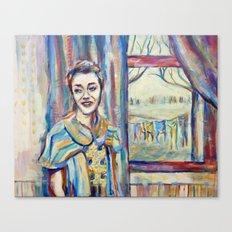 Smile Girl Canvas Print