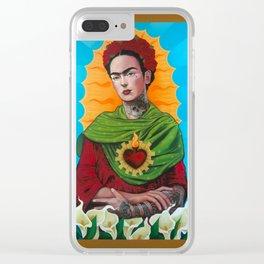 Querida Frida Clear iPhone Case