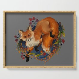 Sly Fox Spirit Animal Serving Tray