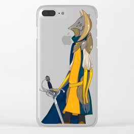 Moon's Knight Clear iPhone Case