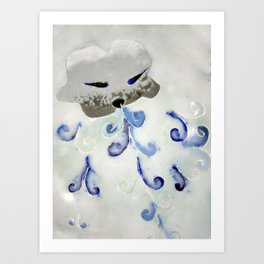 Creature of Air (The North Wind) Art Print