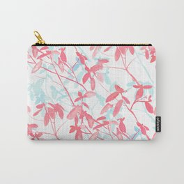 Premonition (Coral Mint) Carry-All Pouch