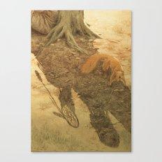 The dreamcatcher / Le piège à rêves Canvas Print