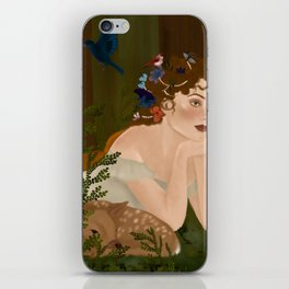 Mielikki, Finnish goddess of the forest iPhone Skin