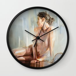 Vanishiong Point Wall Clock