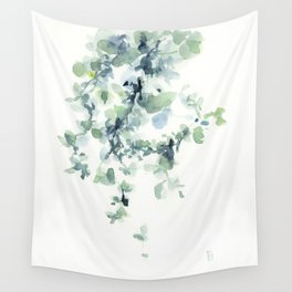 fresh green leaves Wall Tapestry