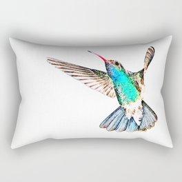 Zunzun ( The Cuban Emerald  ) Rectangular Pillow