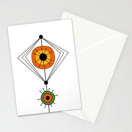 Modern Mid Century 20 Stationery Cards
