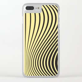 Animal print geometric lover Clear iPhone Case