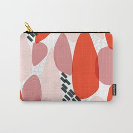 Swatch of red and pinks Carry-All Pouch