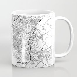 Minimal City Maps - Map Of Columbia, South Carolina, United States Coffee Mug