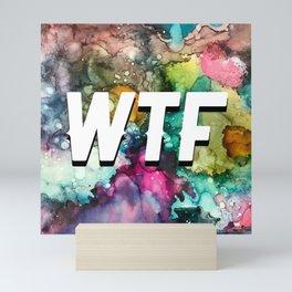 WTF Mini Art Print