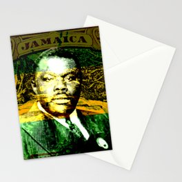 Marcus Garvey Jamaican Freedom fighter Stationery Cards