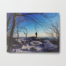 Pulpit Rock, Appalachian Trail Metal Print