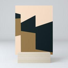 High contrast abstract Mini Art Print