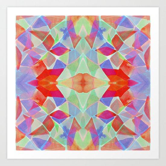 Chroma Orange Art Print