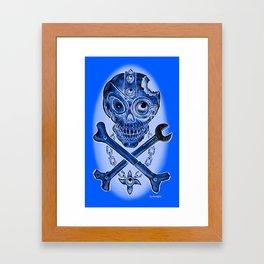 Bo Alvarsson: Skulltech Framed Art Print