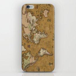 World Treasure Map iPhone Skin