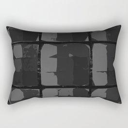 Black beauty Rectangular Pillow